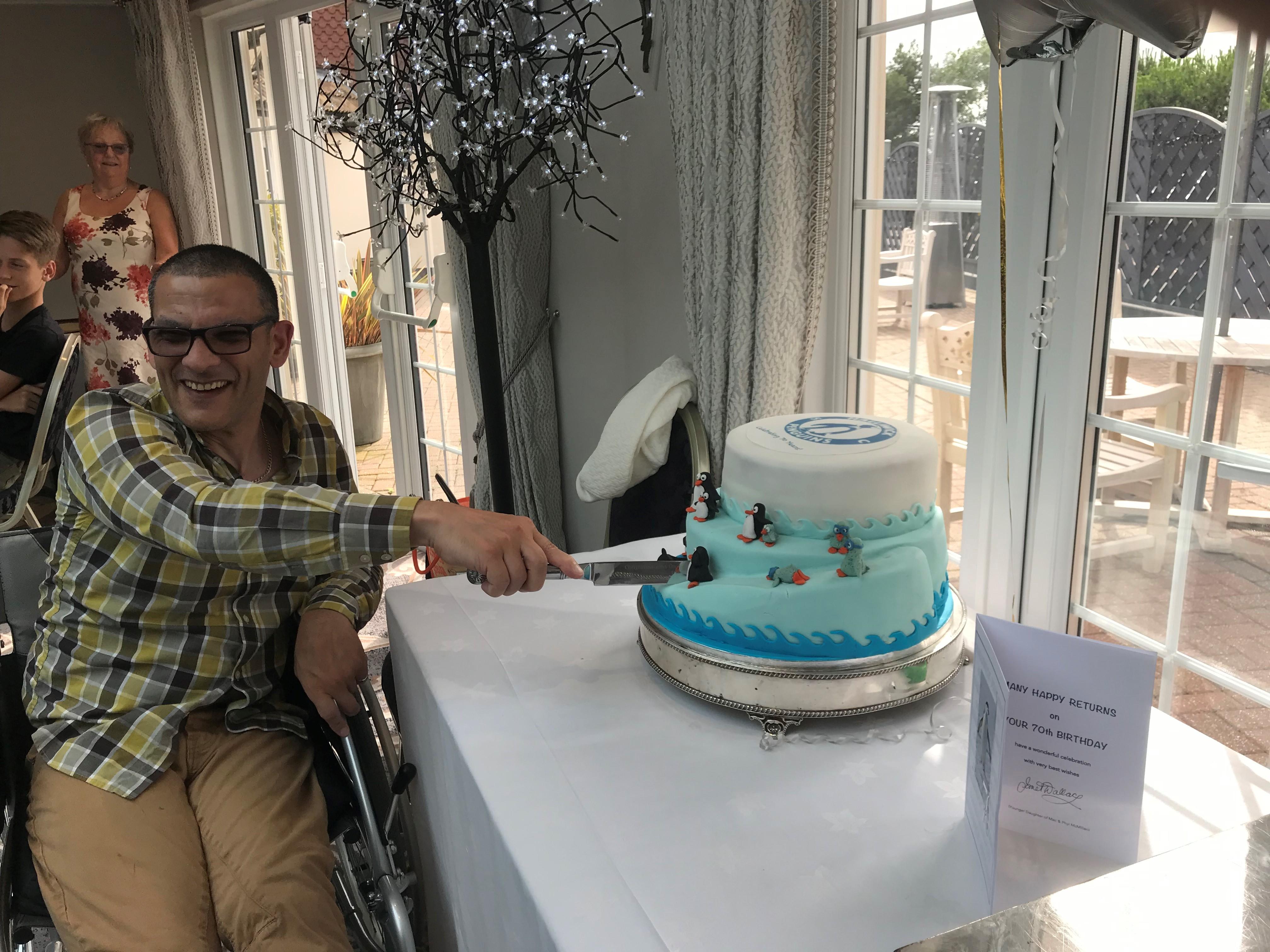 HPSC 70th Cake 2