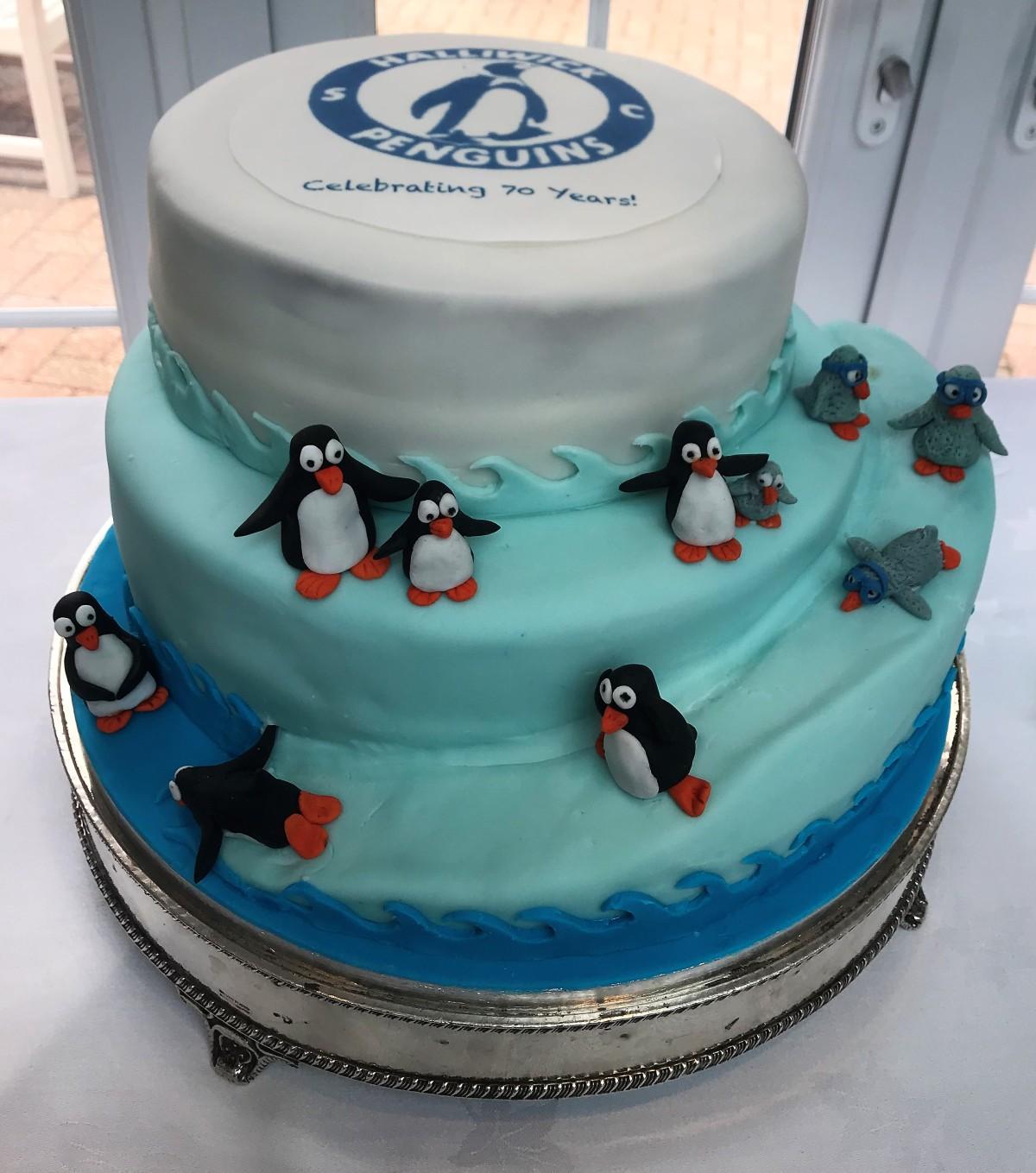 HPSC 70th Cake