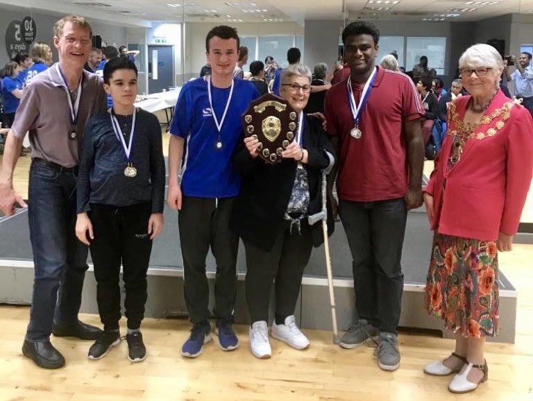 Team at Pimlico Puffins SC Gala, 2019